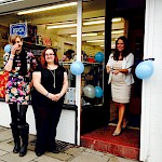 Cllr. Karen Danczuk opens our new charity shop !