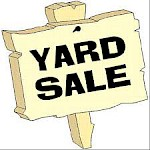 (PAST EVENT) YARD SALE